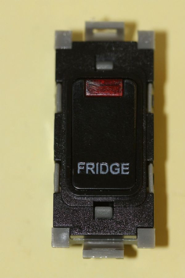 Deta Gridswitch - G3577BK - 20a Double Pole Grid Switch Module Fridge New